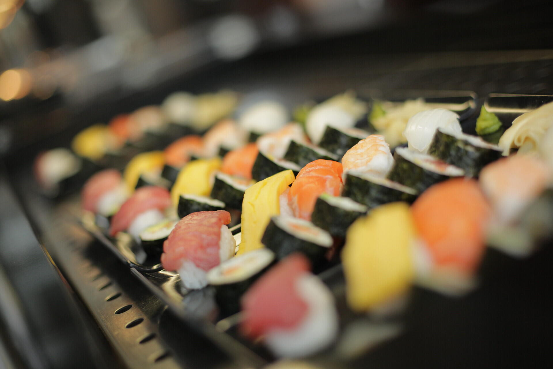 Sushi is one of our cooks' specialties